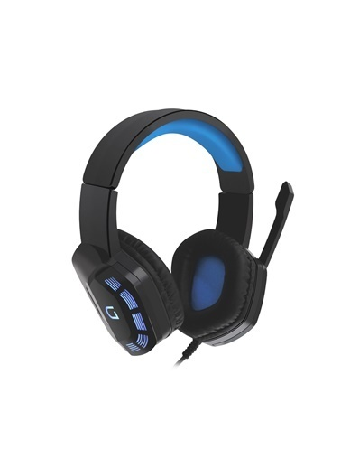 MF Product MF Product Strike 0644 LED Işıklı Kablolu Kulak Üstü Oyuncu Kulaklığı Siyah Renkli